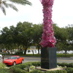 Mazda Miata MX-5 outside the Chihuly Collection at the Morean Arts Center in St. Petersburg, Florida