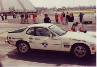 Porsche 924S during  the 1990 One Lap of America
