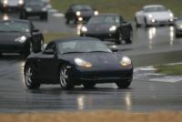 1999 Porsche Boxster doing pace laps at the Petit LeMans