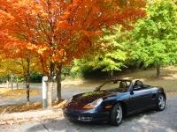 1999 Ocean Blue Metallic Porsche Boxster